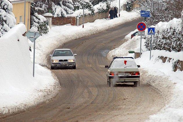 Sněhová kalamita v Kutné Hoře.