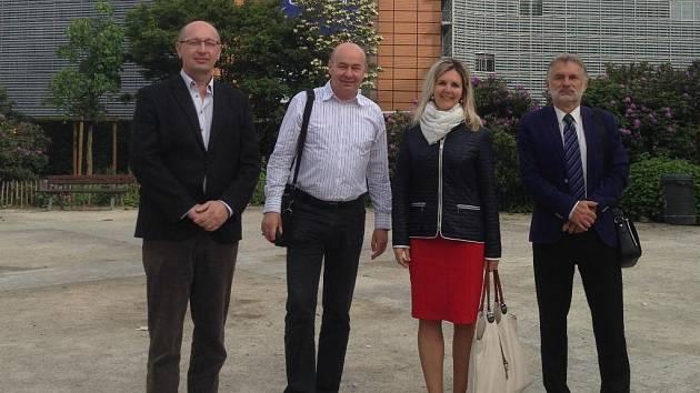 Zástupci vedení středních škol Kutnohorska navštívili Brusel.