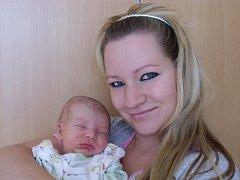 Jakub Vávrů se narodil 16. září v Čáslavi. Vážil 3500 gramů a měřil 53 centimetrů. Doma v Bílém Podolí ho přivítali maminka Andrea a tatínek Jakub.