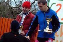 Silvestrovský běh ve Svatém Mikuláši. 31.12. 2009
