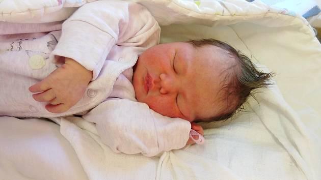 Isabella Vavřinová přišla na svět 26. dubna 2021 v 17. 07 hodin v čáslavské porodnici. Pyšnila se porodní váhou 3310 gramů a délkou 50 centimetrů. Domů do Čáslavi si ji odvezli maminka Žaneta, tatínek Lukáš a dvouletý bráška Matyášek.