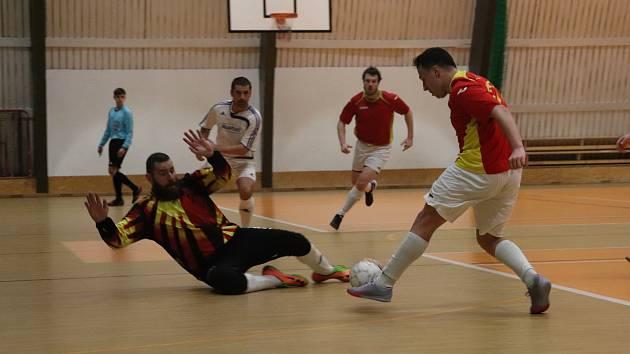Futsalisté N. P. C. Kutná Hora B porazili SKP Kolín B 7:5