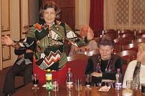 Beseda vedení zručské radnice s občany o rozpočtu města na rok 2009.