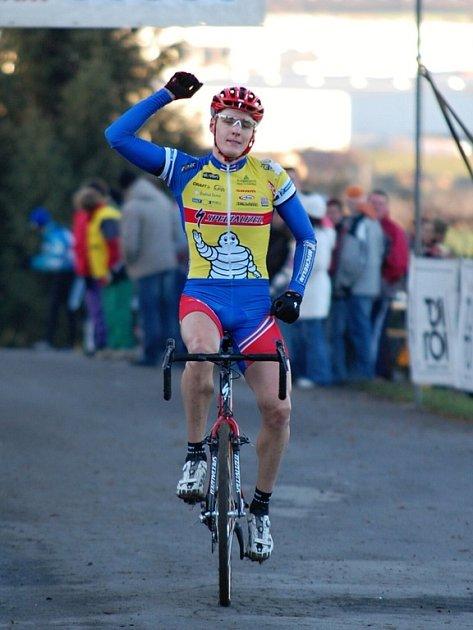 Jaroslav Kulhavý na pátém závodě Toi Toi Cupu, pondělí 17. listopadu 2008