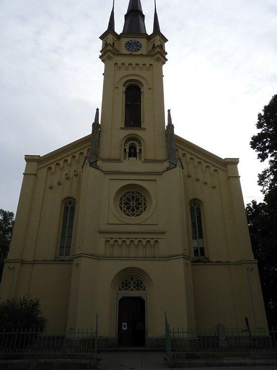 Evangelický kostel v Čáslavi.