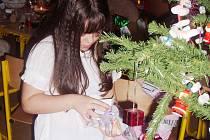 Z vánoční dívčí noci v Domě dětí a mládeže v Čáslavi.
