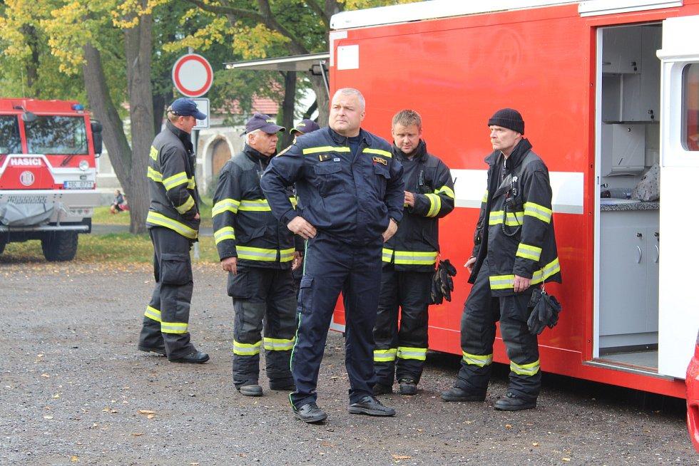 Policisté a hasiči hledali v rámci taktického cvičení dvě osoby.