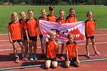 Atletické přípravky SKP Olympia Kutná Hora se zúčastnily závodů v Kolíně.