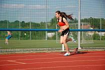 Dominika Nováková z SKP Olympia Kutná Hora bude soutěžit na Olympiádě dětí a mládeže.