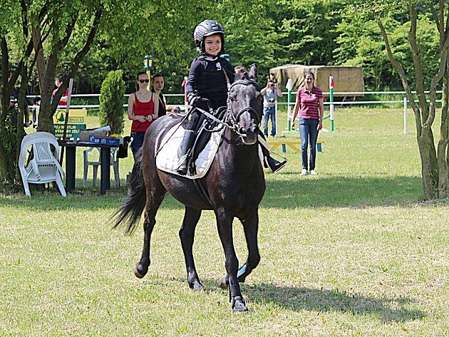 Jezdecké hobby závody v Žehušicích