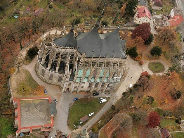 Chrám sv. Barbory v Kutné Hoře.