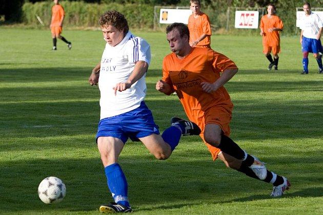 Fotbal I. B třída: Tupadly - Libodřice 0:2, neděle 30. srpna 2009