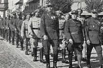 Českoslovenští legionáři.