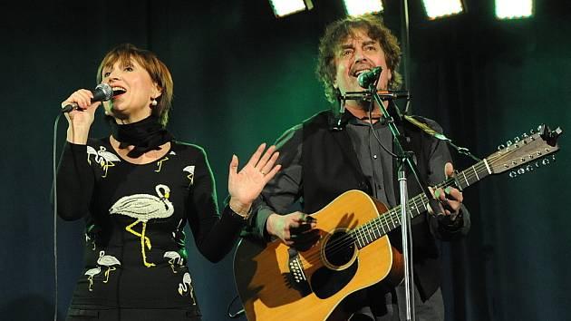 Koncert Petry Černocké v Kolíně.