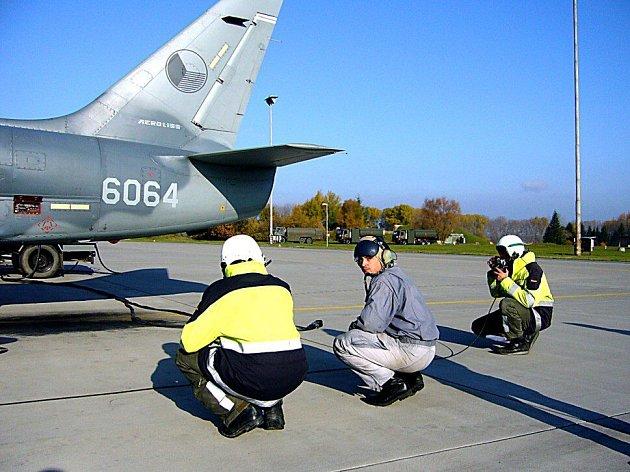 Čáslavská letecká základna. Ilustrační foto.