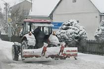Sněhová nadílka - Kutnohorsko 23.2.2013