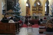 Tříkrálový koncert v katedrále Nanebevzetí Panny Marie a svatého Jana Křtitele v Sedlci.