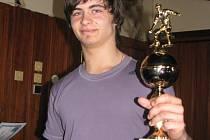 Kanonýr Štefan Auer, nejlepší střelec turnaje.