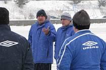Fotbal: první trénink FC Zenit Čáslav, pondělí 5. ledna 2009