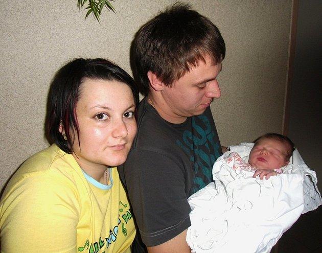Matěj Vavřina se narodil 28. prosince v Čáslavi. Vážil 3500 gramů a měřil 51 centimetrů. Doma v Čáslavi ho přivítali maminka Veronika a tatínek Jakub.