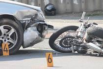 Nehoda v Sedlci 6. září 2014