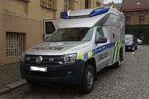 Vozidlo pro kriminalistické techniky v Kutné Hoře