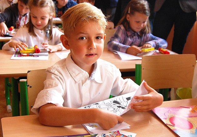 První školní den. 3.9. 2012