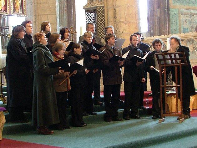 Kutnohorský vokální komorní soubor Cantica.