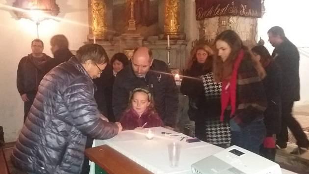 Večer na téma významné osmičky v solopyském kostele.