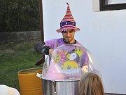 Na oslavách ke stému výročí republiky vystoupil i kouzelník Cucíno.