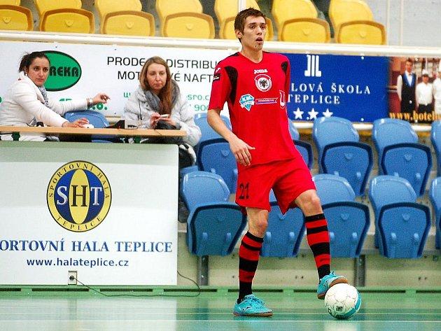 15. kolo Chance futsal liga: Balticflora Teplice - Benago Zruč 4:3, 17. ledna 2012.