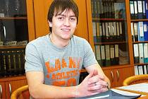 Již od dětství se čáslavský student Jiří Sedlák věnuje recitaci.