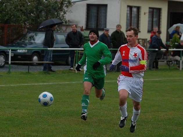 Fotbal I. B třída: B. Podolí - Louňovice 0:1, sobota 17. října 2009