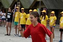 Táborové hry na Želivce byly zahájeny.