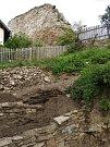 Zřícenina hradu Talmberk na Kutnohorsku působí magicky.