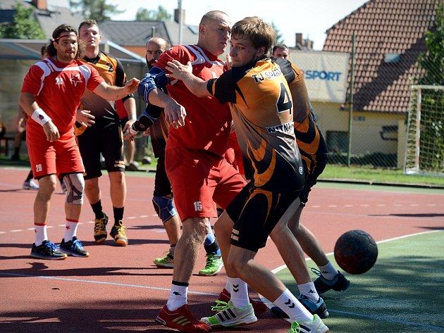 1. kolo Českého poháru: Kutná Hora - Slavia Praha 25:39, 29. srpna 2015.