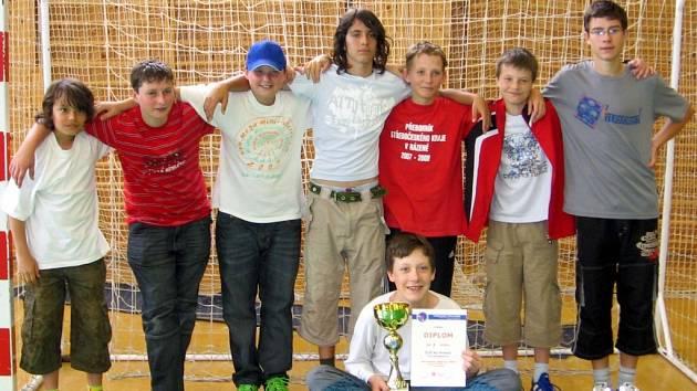 Vítězný tým I. ZŠ Zruč nad Sázavou