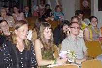 Z vyhlášení vítězů literární soutěže Ortenova Kutná Hora.Ilustrační foto