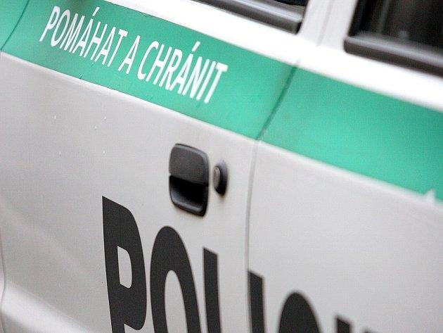 Nové logo na vozidlech Policie České republiky.