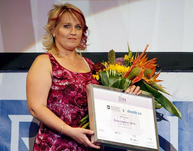 Věra Suchá se již dříve stala vítězkou soutěže Žena regionu 2010