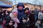 Z rozsvícení vánočního stromu na náměstí Jana Žižky z Trocnova v Čáslavi.