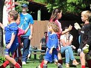 Fotbalový mistrovský turnaj mladších přípravek v Chotusicích: Sparta Kutná Hora B - FK Čáslav C 5:5.
