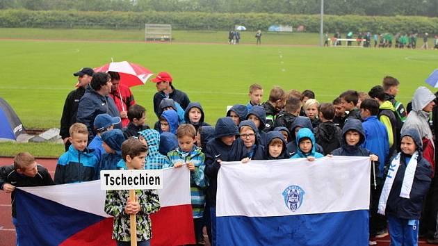 Čáslavské fotbalové týmy U10 a U11 na mezinárodním turnaji Mozart Trophy v rakouském Salzburgu.