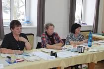 Lidé v Chlístovicích volí v opakovaných komunálních volbách.