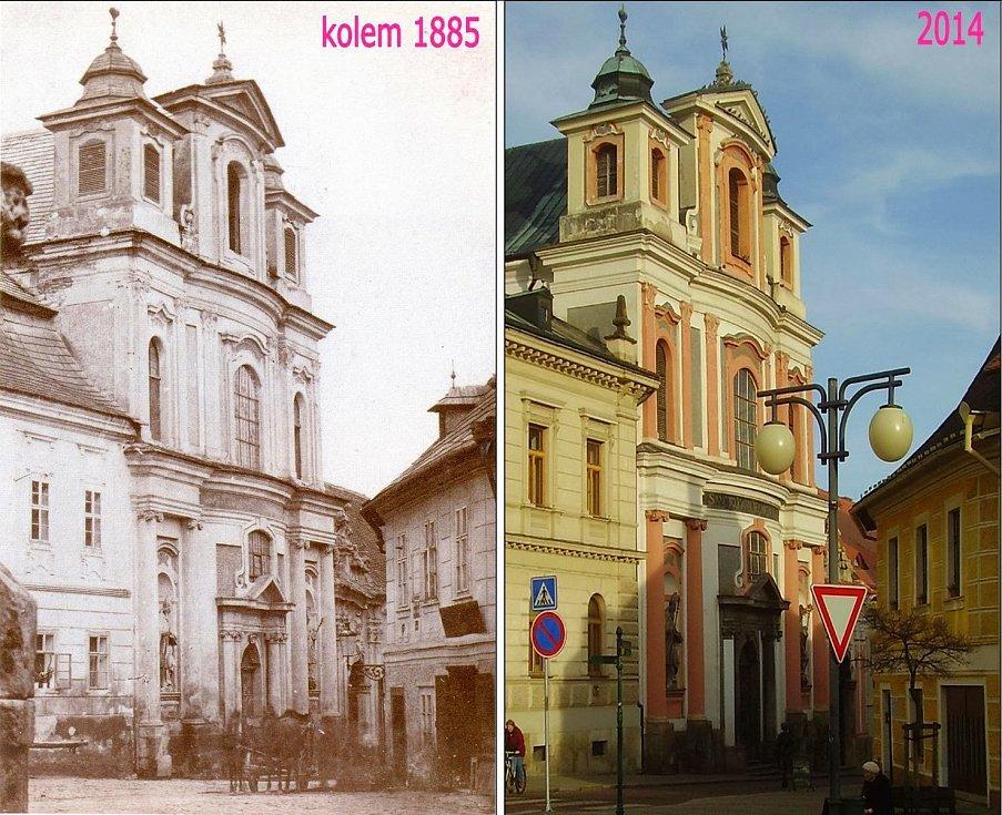 Kutná Hora - Kostel Jana Nepomuckého