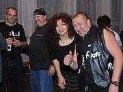 Benešovská hudební skupina Keks je v místní sokolovně častým hostem, který těší se velké přízní rockového publika.