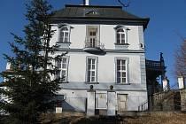 Vila stavitele Eduarda Viktory v Paběnicích.