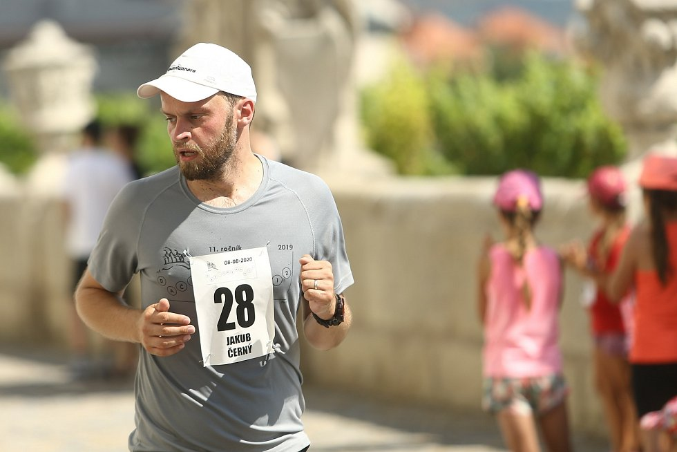 "Z  běhu Dačického ""12"" v sobotu 8. srpna 2020."