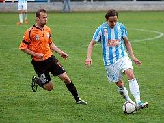 24. kolo II. ligy: FK Čáslav - Graffin Vlašim 1:2, 22. dubna 2012.