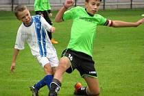 Okresní přebor mladších žáků: FK Čáslav D - FK Uhlířské Janovice 2:4 (2:1).